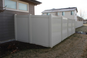 Vinyl Privacy Fence T&G 1